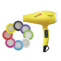 BABYLISS PRO Фен Luminoso Giallo Ionic, желтый 2100W