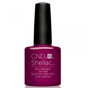 Фото CND Shellac Гелевое покрытие, # 91596 Berry Boudoir, 7.3 мл
